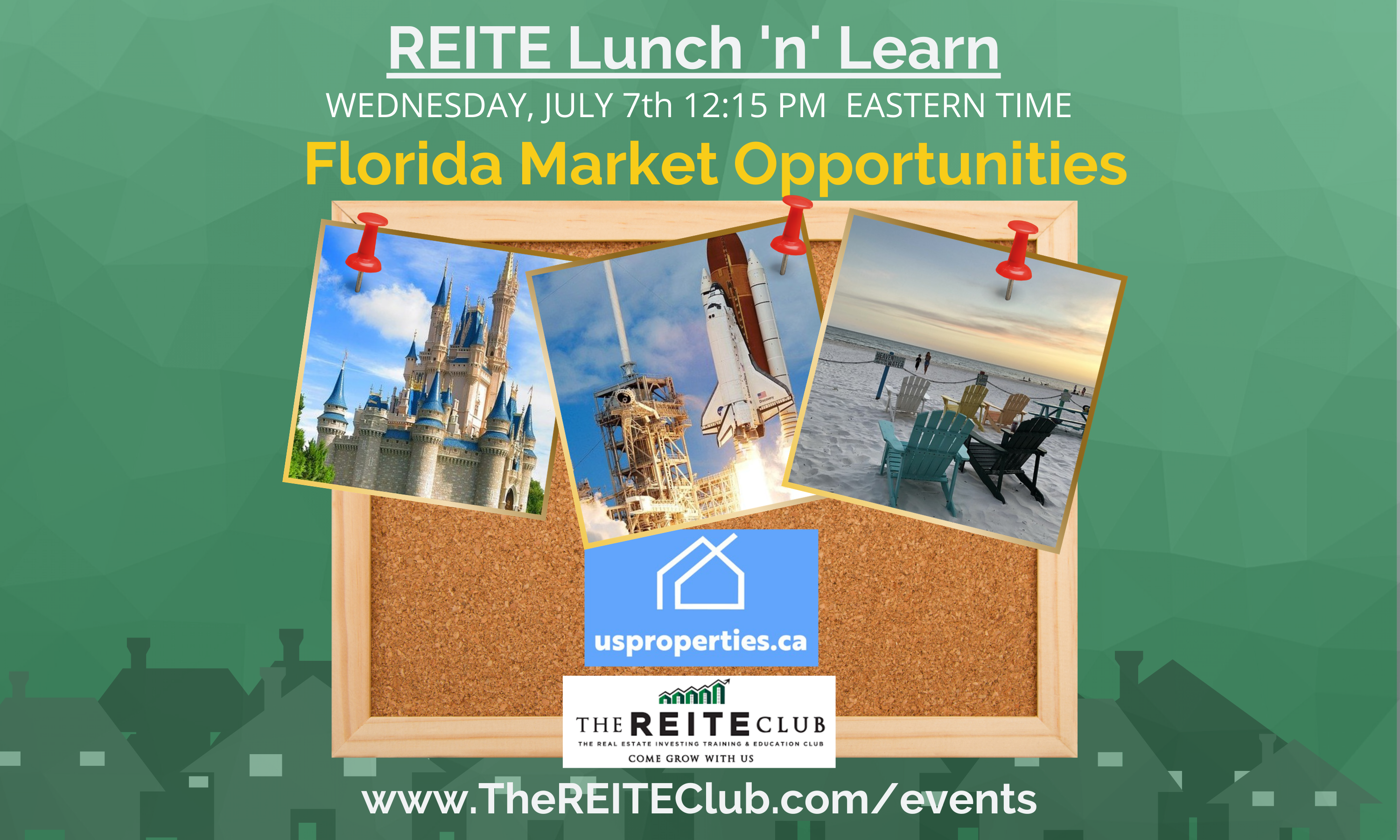 Lunch 'n' Learn - Florida Investing Opportunities with US Properties