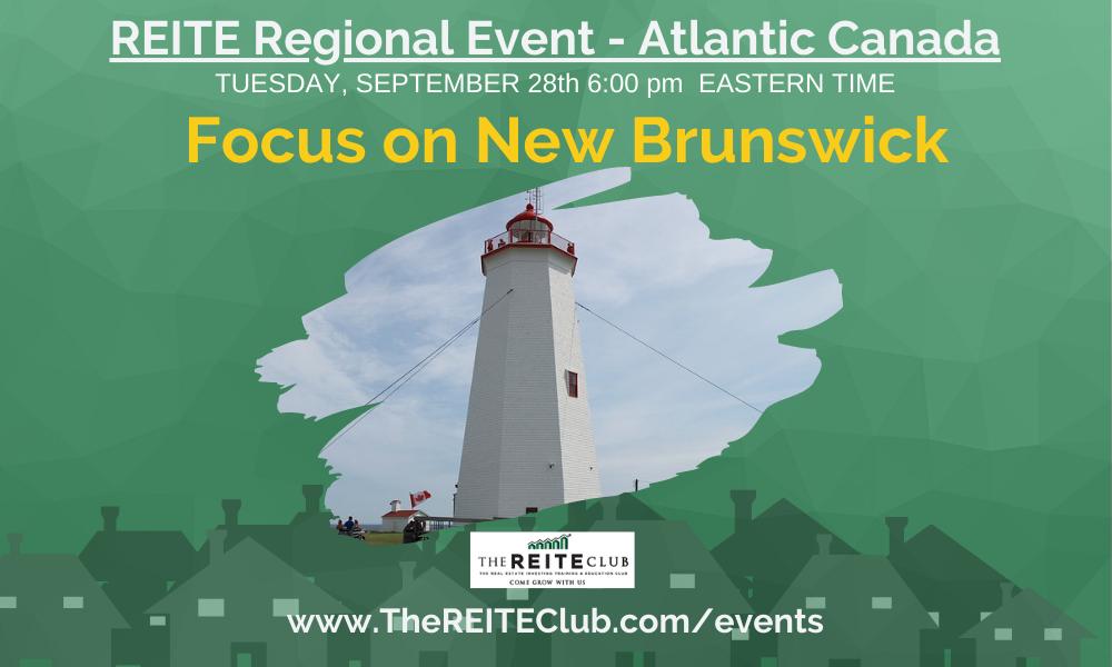 Investing in Atlantic Canada - Focus on New Brunswick