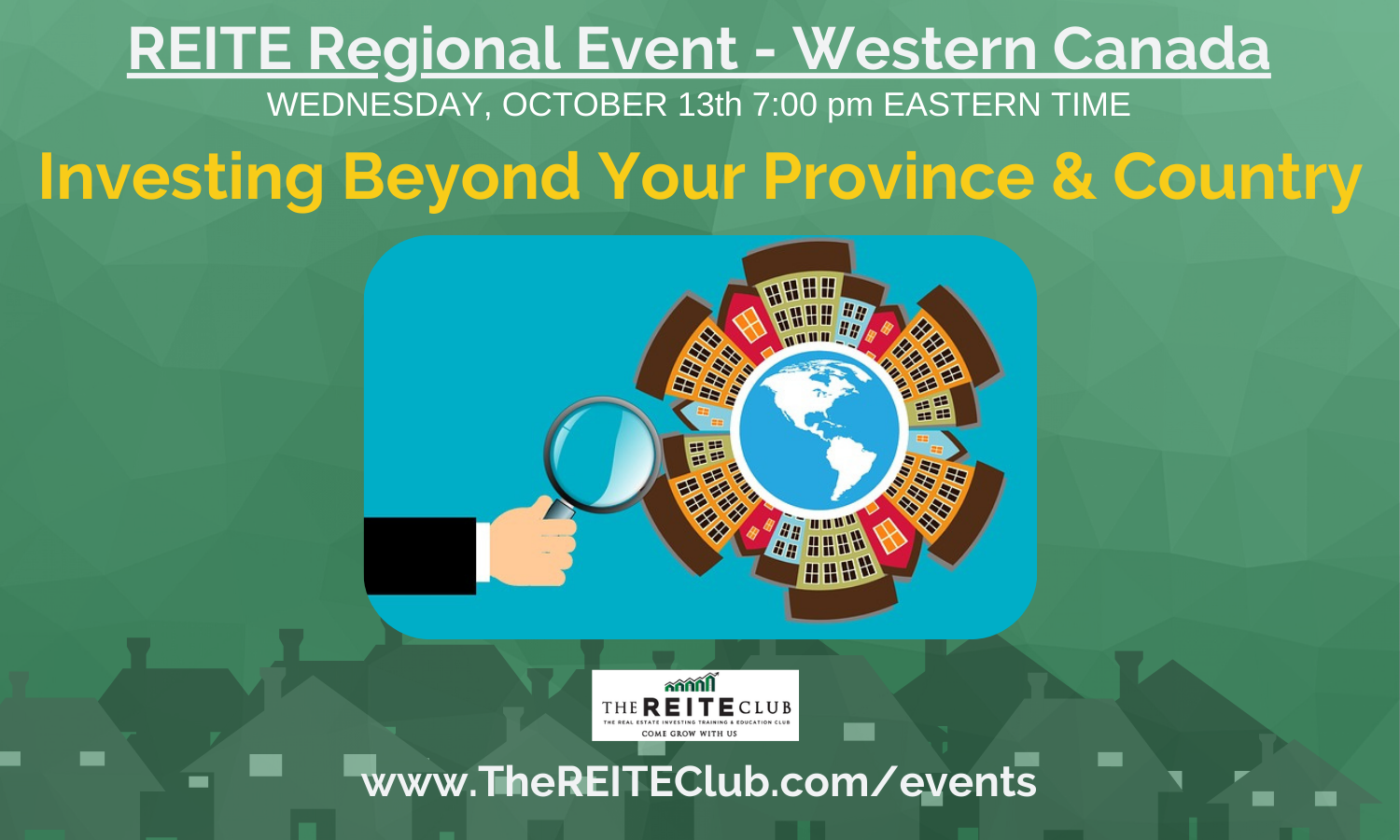 Investing Beyond Your Province & Country